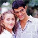 Eduardo Moscovis and Gabriela Alves