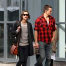 Keira Knightley & Rupert Friend Strolling Hand In Hand In East London - October 3, 2010 - 454 x 644