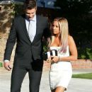 Ashley Tisdale and Scott Speer: leaving her house and heading to the premiere of 'Step Up Revolution' in Toluca Lake