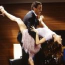Debra Messing and Gregory Hines
