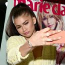 """Zendaya attends the """"Fresh Faces"""" party, hosted by Marie Claire, celebrating the May issue cver stars on April 11, 2016 in Los Angeles, California"""
