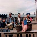 The Americans Celebrating the 4th of July at Stalag 13 - 454 x 486