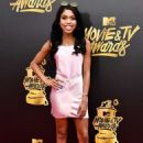 Teala Dunn – 2017 MTV Movie And TV Awards in Los Angeles - 454 x 681