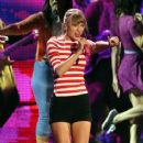 Taylor Swift performing at the 2012 MTV Video Music Awards (September 6)