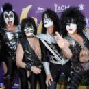 Kiss backstage at the 47th Annual Academy Of Country Music Awards held at the MGM Grand Garden Arena on April 1, 2012 in Las Vegas, Nevada - 454 x 302