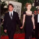 Nicole Kidman and Tom Cruise At The 54th Annual Golden Globes Awards - Arrivals (1997)