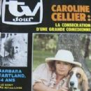 Caroline Cellier - TV Jour Magazine Cover [Belgium] (20 November 1985)