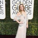 Drew Barrymore At The 74th Golden Globe Awards (2017)