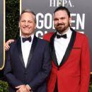 Viggo Mortensen and his son Henry Mortensen At The 76th Golden Globe Awards (2019) - 447 x 600
