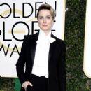 Evan Rachel Wood at The 74th Golden Globes Awards - arrivals - 412 x 600