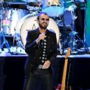 Ringo Starr performs during the Ringo Starr and his All Starr Band concert at The Greek Theatre on September 01, 2019 in Los Angeles, California - 454 x 389