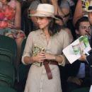 Emma Watson – Wimbledon 2018 Men's Singles Final in London - 454 x 681