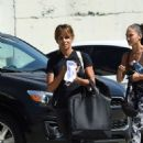 Halle Berry – Leaving a photoshoot in Los Angeles