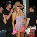 Paris Hilton: at the Coachella Music Festival in California