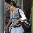 Salma Hayek - Shopping In West Hollywood, 27. 3. 2009.