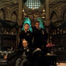 Tom Felton, Joshua Herdman and Jamie Waylett in Harry Potter and The Chamber of Secrets - 2002 - 454 x 561
