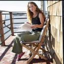 Shauna Robertson at her Malibu rental beach house