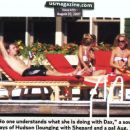 Dax Shepard lounging with Kate Hudson in Canada Aug 07