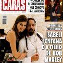 Rohan Marley and Isabeli Fontana