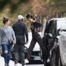 Kendall Jenner – Leaving an appointment at the Longchamps HQ in Paris