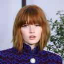 Ellie Bamber – Chanel Haute Couture Show in Paris