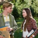 (L-r) CALLAN McAULIFFE as Bryce Loski and MADELINE CARROLL as Juli Baker in Castle Rock Entertainment's coming-of-age romantic comedy 'FLIPPED,' a Warner Bros. Pictures release. Photo by Ben Glass - 454 x 331