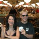 Jennifer Tilly and Phil Laak at the 2005 World Series of Poker - Rio Las Vegas