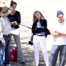 Gisele Bundchen & Tom Brady: Construction Lovers
