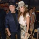 Thalia and Tommy Mottola- #TOMMYNOW Women's Runway Show Fall 2016 - Front Row & Atmosphere - 399 x 600