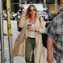 Jennifer Aniston is spotted out and about in New York City, New York on June 16, 2016