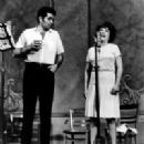 "Recording The 1966 Revivel Cast Album Of ""Annie Get Your Gun"" Ethel Merman, Bruce Yarnell,"