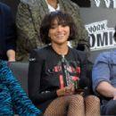 Kat Graham – 'Teenage Mutant Ninja Turtles' Panel at 2018 New York Comic Con