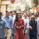 Duchess Catherine and William visit Salaam Baalak Trust