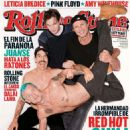 Red Hot Chili Peppers - Rolling Stone Magazine Cover [Argentina] Magazine Cover [Argentina] (1 September 2011)