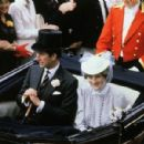 Lady Diana Spencer attended to the final day of Royal Ascot - 19 June 1981