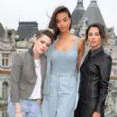 Kristen Stewart Naomi Scott Elizabeth Banks and Ella Balinska – 'Charlie's Angels' Photocall in London