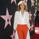 Felicity Huffman – Eva Longoria Hollywood Walk Of Fame Ceremony in Beverly Hills