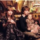 Violet (Emily Browning), Klaus (Liam Aiken) and Sunny (Kara Hoffman/Shelby Hoffman) in Paramount Pictures' Lemony Snicket's A Series of Unfortunate Events.,