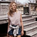 Edita Vilkeviciute for Mango July/August 2014 Lookbook