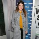 Nikki Reed: showed up in Times Square, NYC for the Gillette Kiss & Tell Event