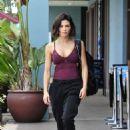 Jenna Dewan – Leaving a workout class in Los Angeles