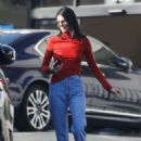 Kaia Gerber, Charlotte Lawrence and Kendall Jenner – Out in West Hollywood