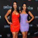 Nikki and Brie Bella – WWE Evolution in New York - 454 x 682