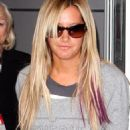 Ashley Tisdale arriving into JFK Airport in NYC (July 18)