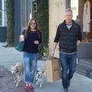 Selma Blair and boyfriend shopping in Melrose - 454 x 522