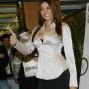 Aida Yespica - At Italian Motorshow