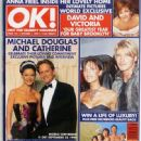 Michael Douglas - OK! Magazine Cover [United Kingdom] (1 October 1999)