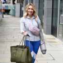 Gemma Merna – Arriving at a Yoga Class in Manchester - 454 x 680