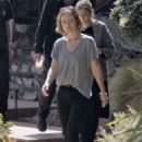 Olivia Wilde – Leaving a friends house in Los Angeles