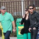 Ashley Greene Steps Out with Jared Followill